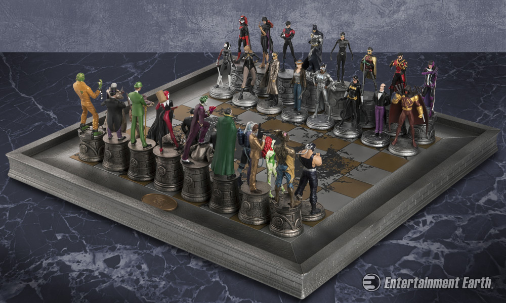 supermanand batman play chess - photo #2