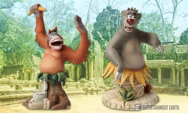 The Jungle Book Busts