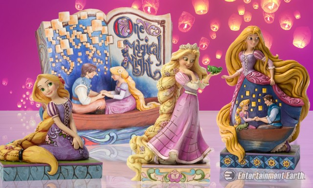 Disney Traditions Tangled Statues