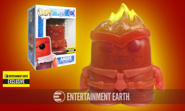 Inside Out Anger Pop! Vinyl Exclusive