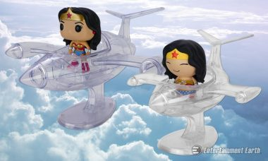 Hit the Skies with Wonder Woman's Invisible Jet!
