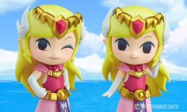 Sail the High Seas with the Wind Waker Princess Zelda Nendoroid!