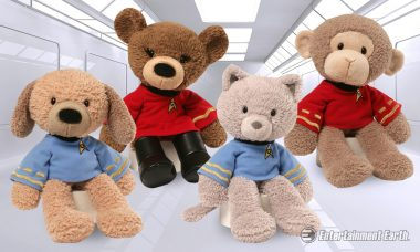 Gund Sets Phasers to Adorable with These Snuggly Star Trek Stuffed Animals
