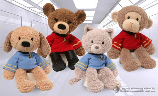 Gund Sets Phasers To Adorable With These Snuggly Star Trek