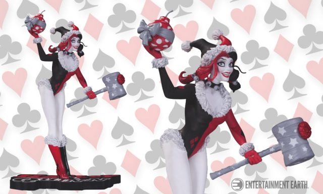 Harley Quinn Holiday Statue