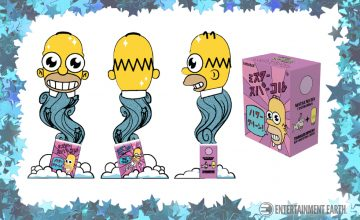 The Simpsons Mr. Sparkle Figure