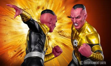 Sinestro ArtFX+ Statue Will Unleash Your Inner Fear