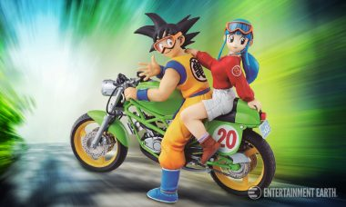New Son Goku and Chichi Statue Is the Real McCoy