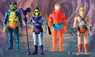 These Masters of the Universe Action Figures Take Retro to a Whole New Level