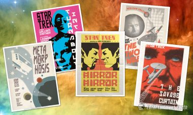 Travel the Stars with These Star Trek Poster Sets