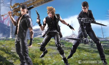 Final Fantasy XV Characters Added to Play Arts Kai Line