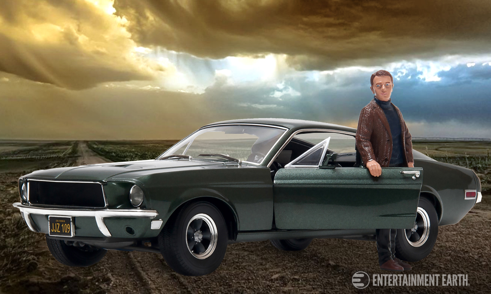 Relive The Excitement Of Bullitt With Die Cast Vehicles