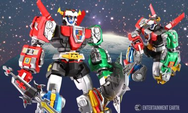 Five Mini Lions Combine to Form This Ultimate Voltron