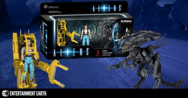 Celebrate Alien Day with This Aliens Retro Action Figure Collector's Set
