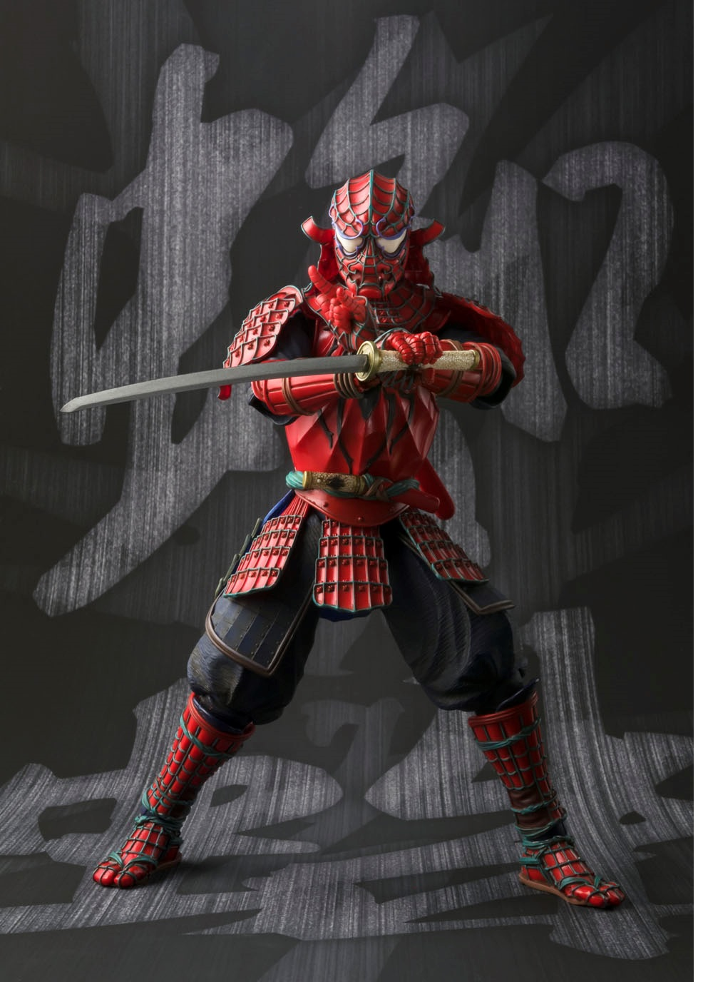 Brand New Spider Man Samurai Realization Figure Is A Must Have