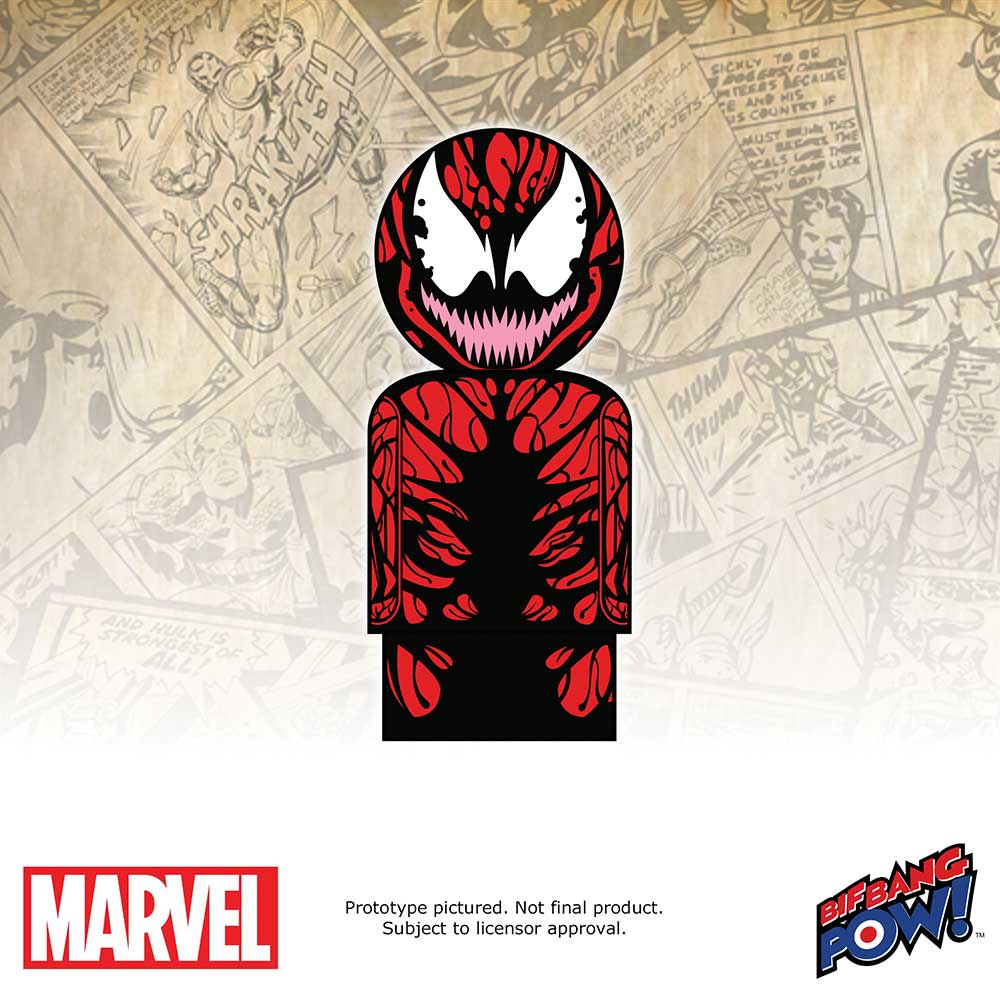 Marvel Carnage Pin Mate Wooden Figure