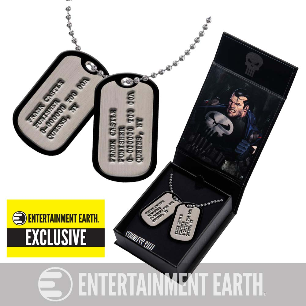 Punisher Dog Tag Exclusive