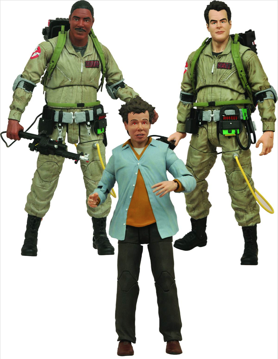 Best Ghostbuster Toys : These ghostbusters action figure sets go together like the