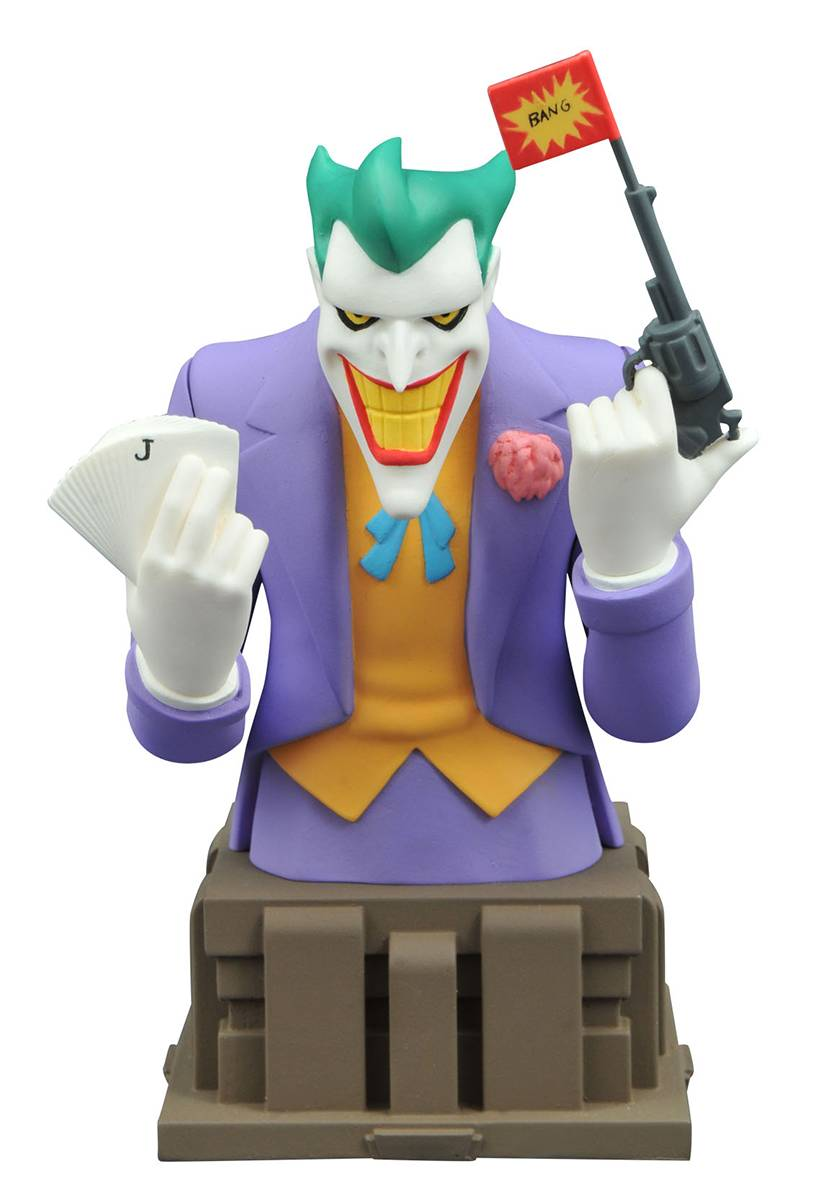 Joker Animated Busts