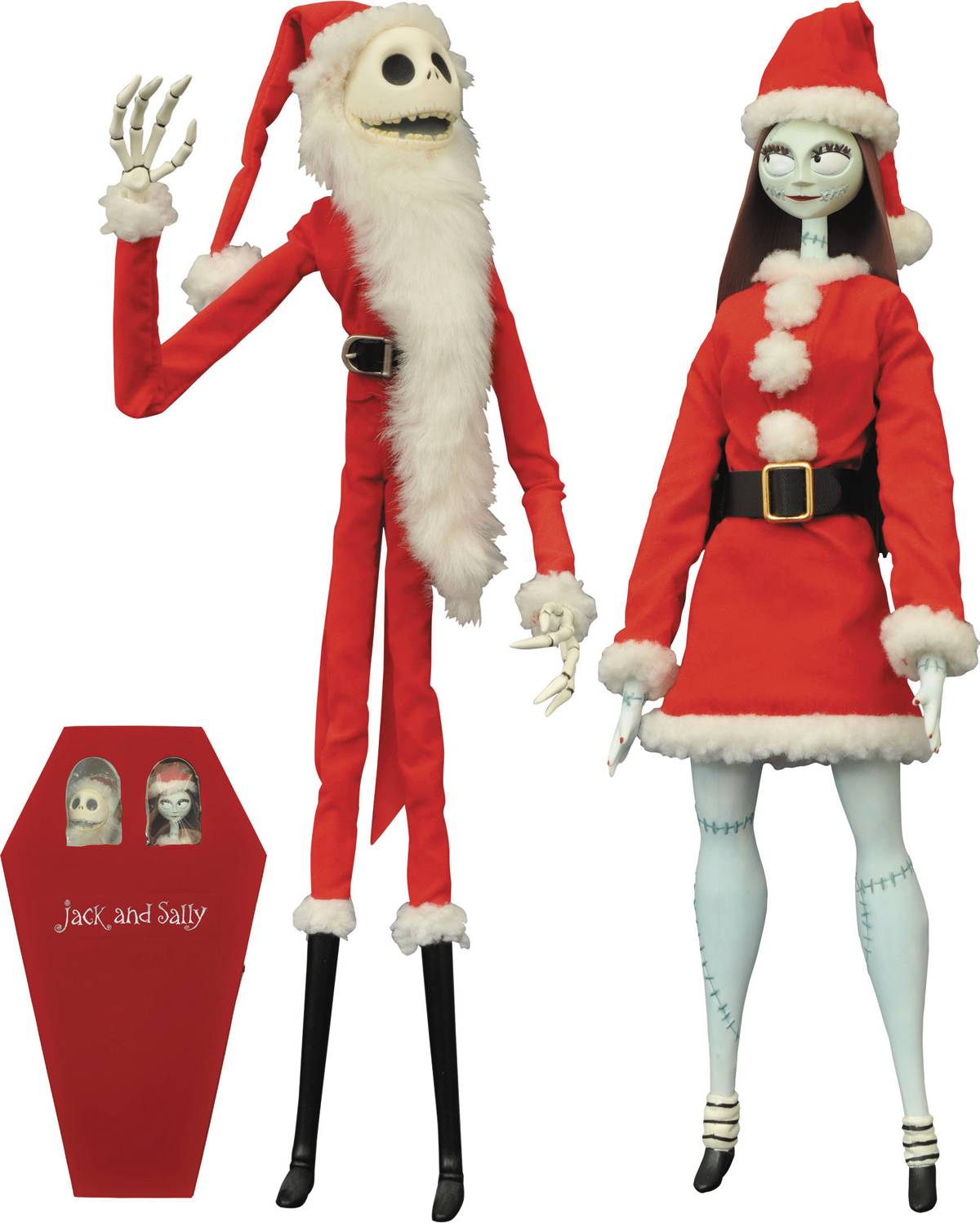 Jack and Sally Are Ready to Fill Mr. Sandy Claws\' Boots This Year
