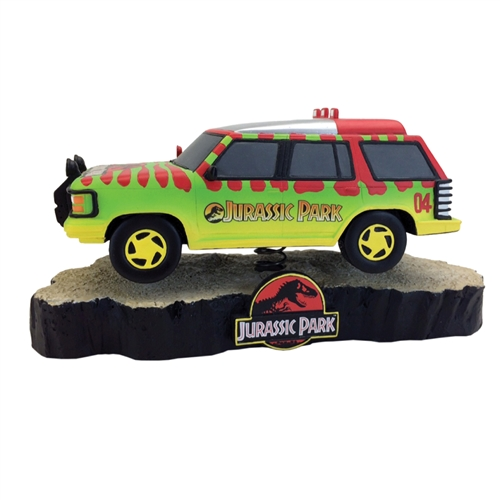 Jurassic Park Vehicle Motion Statue