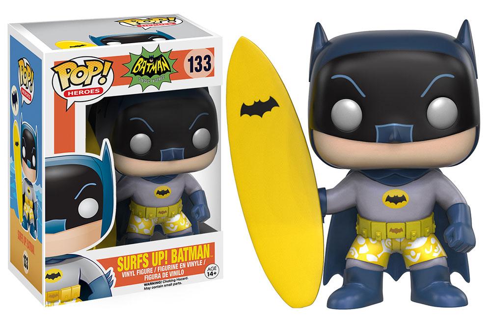 Hang Five With Surf S Up Batman And Joker Pop Vinyl Figures