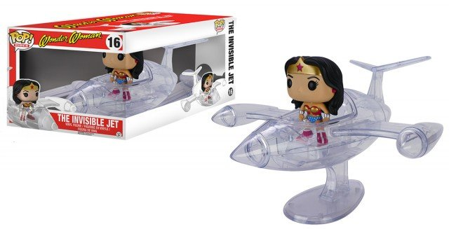 WW Invisible Jet Pop! Vinyl