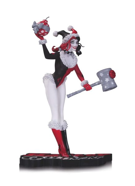 DC Collectibles Holiday Harley Quinn Statue