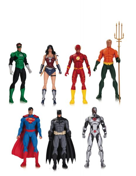 DC Collectibles Justice League 7-Pack