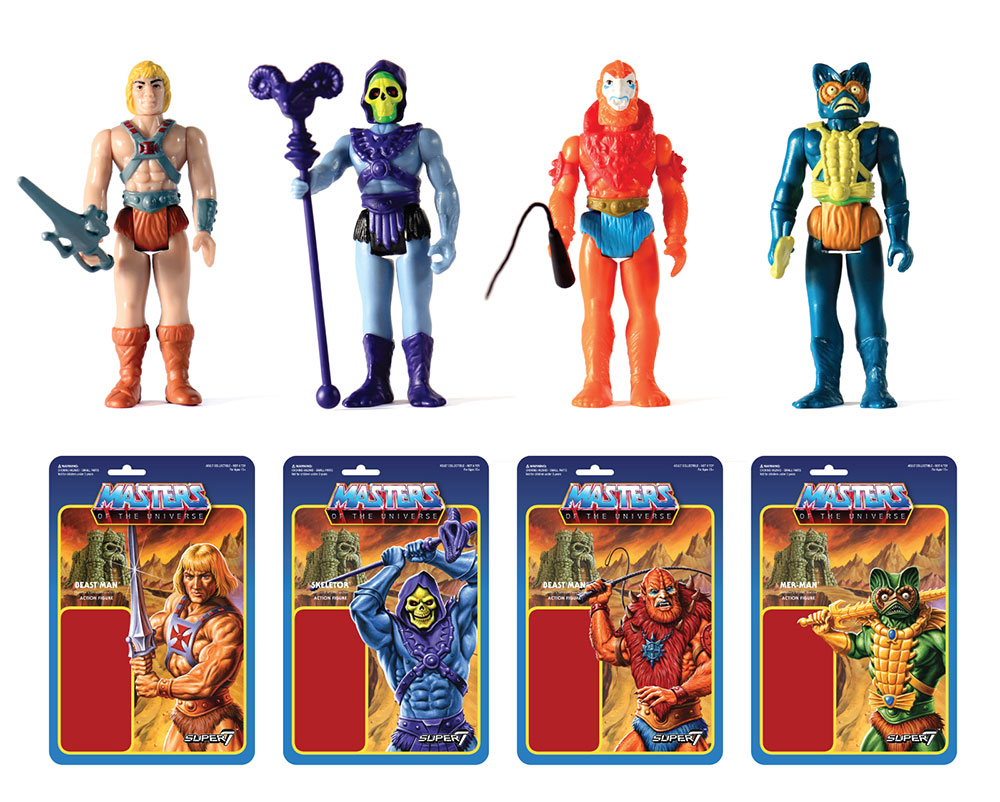Masters of the Universe Retro Figures