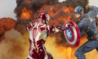 Pledge Your Allegiance with Captain America: Civil War Statues!