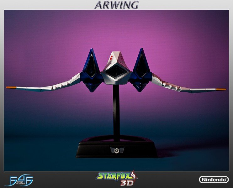 Star Fox Arwing Statue