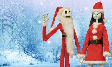 Jack and Sally Are Ready to Fill Mr. Sandy Claws' Boots This Year