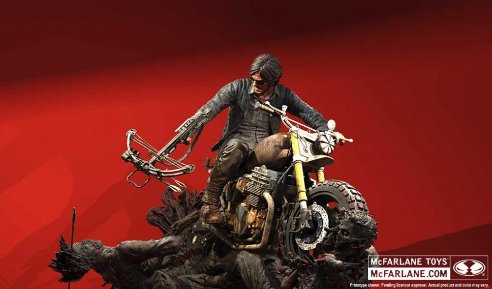 The Walking Dead Daryl Dixon 10-Inch Resin Statue