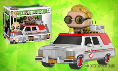 The Next-Generation Ecto-1 Makes Its Debut as a Pop! Vinyl
