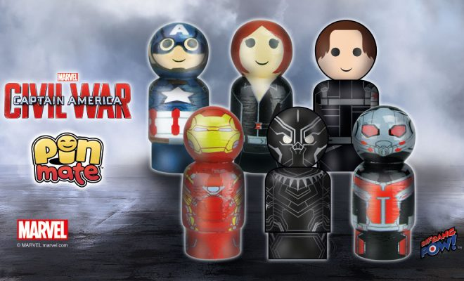 Go To War With Six New Marvel Pin Mate Figures By Your Side