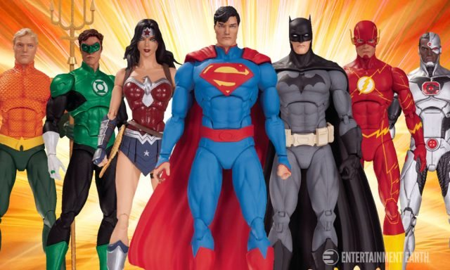 Justice League of America Action Figure 7-Pack