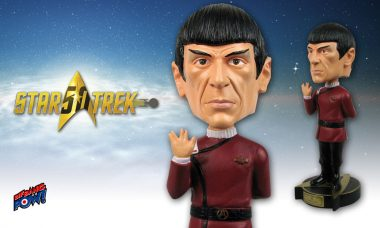 Spock Bobble Head – Back in Stock by Popular Demand!