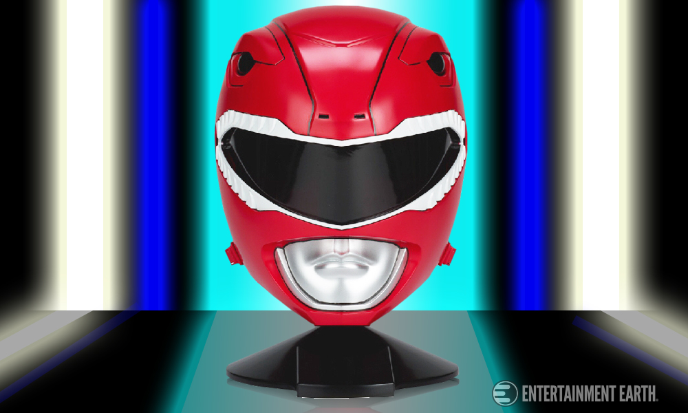 Suit Up With This Red Ranger Helmet