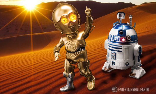 R2-D2 C-3PO Egg Attack Figures