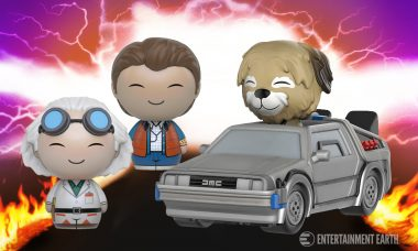 Go Back to Nostalgia with Back to the Future Dorbz