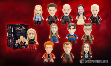 Buffy the Vampire Slayer Mini-Figures Welcome You to the Hellmouth