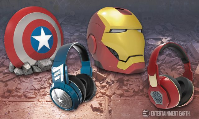Captain America: Civil War Headphones and Speakers