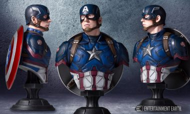 Gentle Giant's Captain America Civil War Mini Bust Is Not a Bust