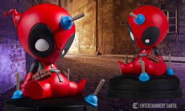 The Merc with the Mouth Is Now an Adorable Animated Statue