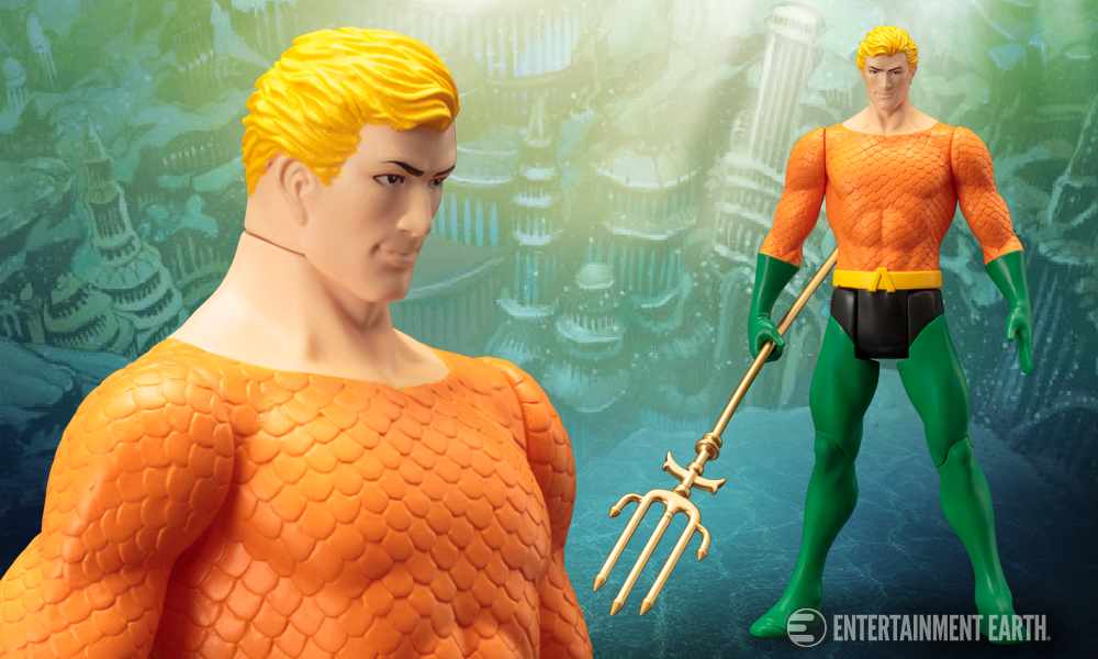 New Aquaman Artfx Statue Commands The Seven Seas