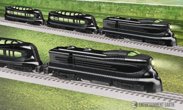 Batman Phantom Train Set