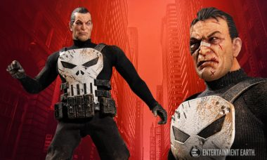 """New One:12 Scale Punisher Figure Screams """"Vengeance!"""""""