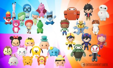 Pocket More Disney•Pixar Characters with Monogram 3D Foam Keychains!