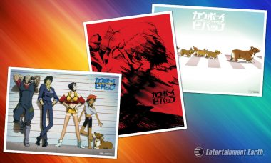 1, 2, 3 – Let's Jam! With These Cowboy Bebop Art Prints